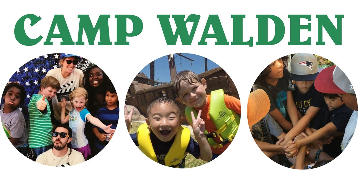 Camp Walden begins June 26!